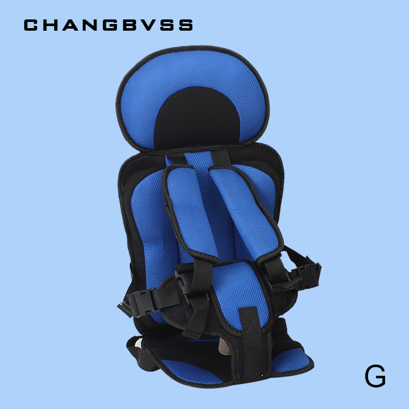 Baby Age 9 Months 12 Years Old Portable Baby Care Safety Seat Five Point Harness 9