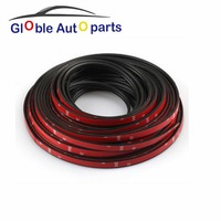 4 Meter D Z P Type 3M Adhesive Car Rubber Seal Sound Insulation Weatherstrip Edge Trim Noise Insulation Car Door Sealing Strip
