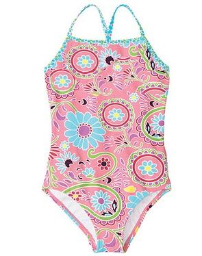 Աղջիկների լողազգեստներ սրտերով / - Սպորտային հագուստ և աքսեսուարներ - Լուսանկար 2