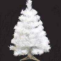 60 cm Blanc Artificielle Arbre De Noël Parti Événement Fasion Décoration De Noël Mini Table Ornement Adornos Navidad