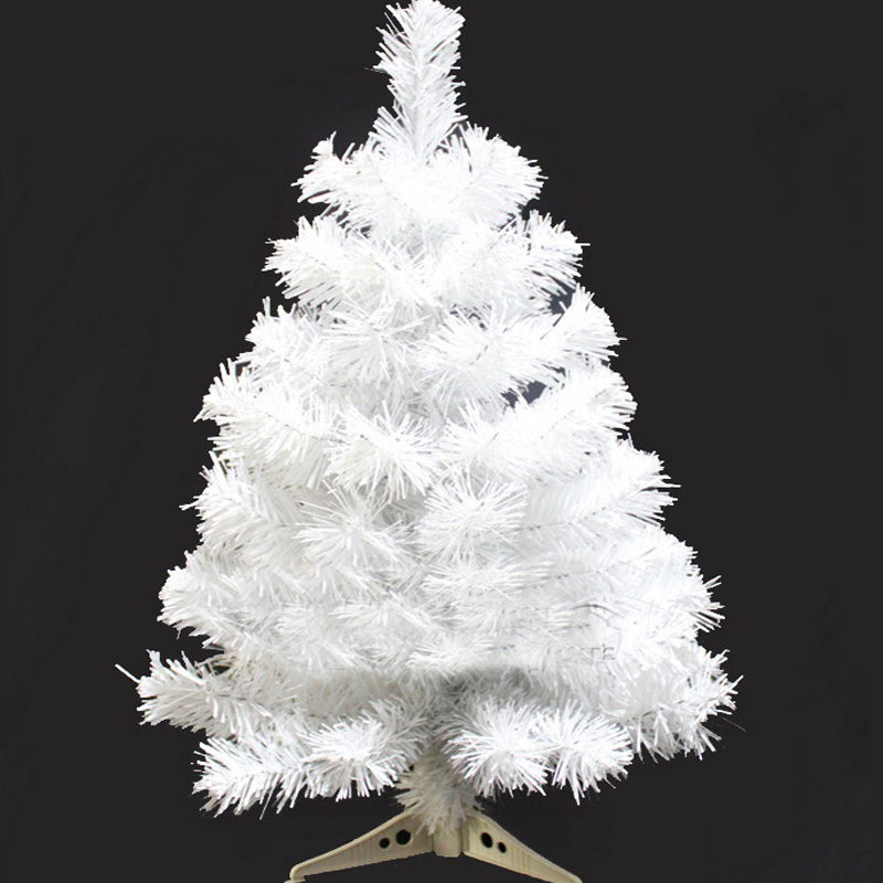 Mini White Christmas Trees