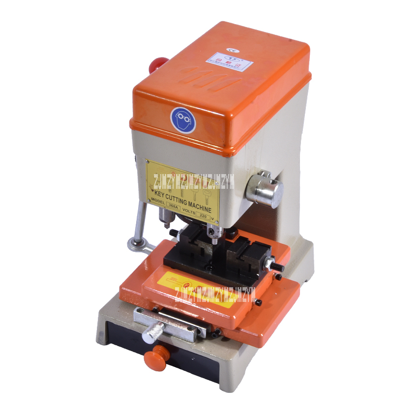 Tools : Newest Laser Car Key Cutting Copy Duplicating Machine 368a With Full Set Cutters For Making Keys Locksmith Tools 220V