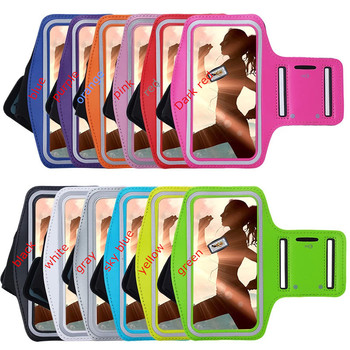 Brazaletes para teléfonos móviles, cubierta de brazalete deportivo para correr en gimnasio para Samsung Galaxy J4 Plus J4 2018 J6 Plus, funda de brazalete ajustable