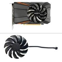 88mm T129215SU PLD09210S12HH Fan Için Değiştirin Gigabyte Geforce GTX 1080 GTX1070 1060 1050 Ti fanITX G1 Radeon Oyun Fan soğutma