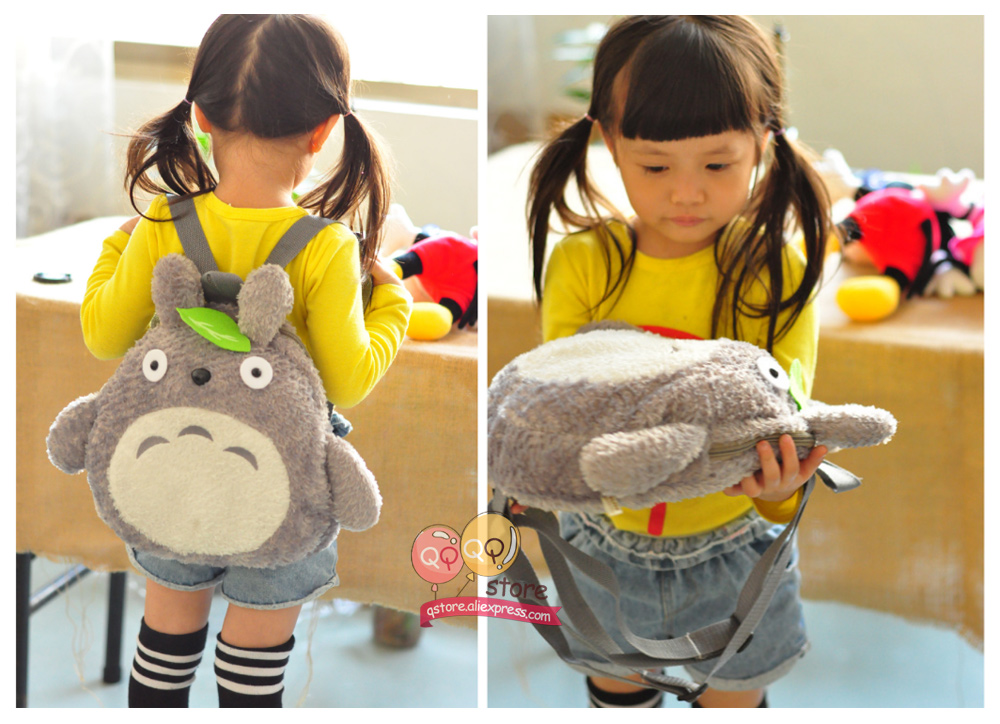 Totoro Plush Backpack Toys For Kids
