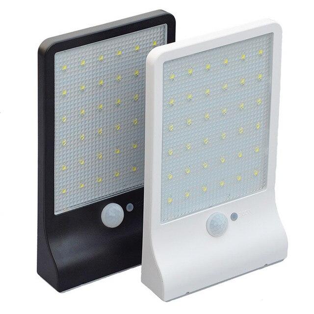 Lumière solaire de Sécurité Avec Détecteur de mouvement 42 LED ...