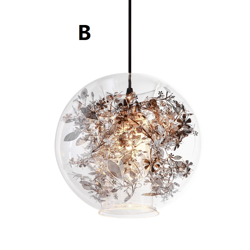 Modern Hanglamp Vintage Lamps For Living Room Glass Ball Abajur Pendant Light Dinning Room Suspension luminaire Loft lampe New iwhd glass lampara vintage pendant light style loft vintage pendant lights living room bae kitchen lamps hanglamp luminaire