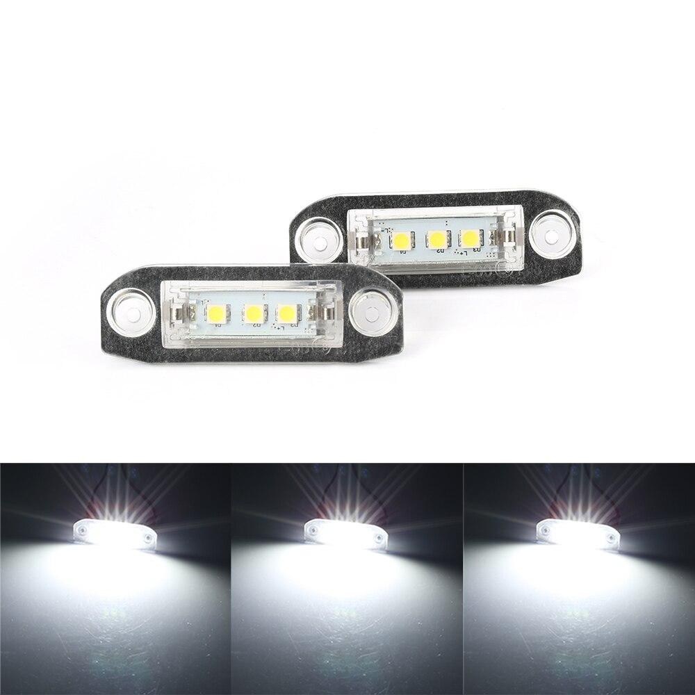 2x Jaguar XJ8 Genuine Osram Ultra Life Number Plate Lamp Light Bulbs