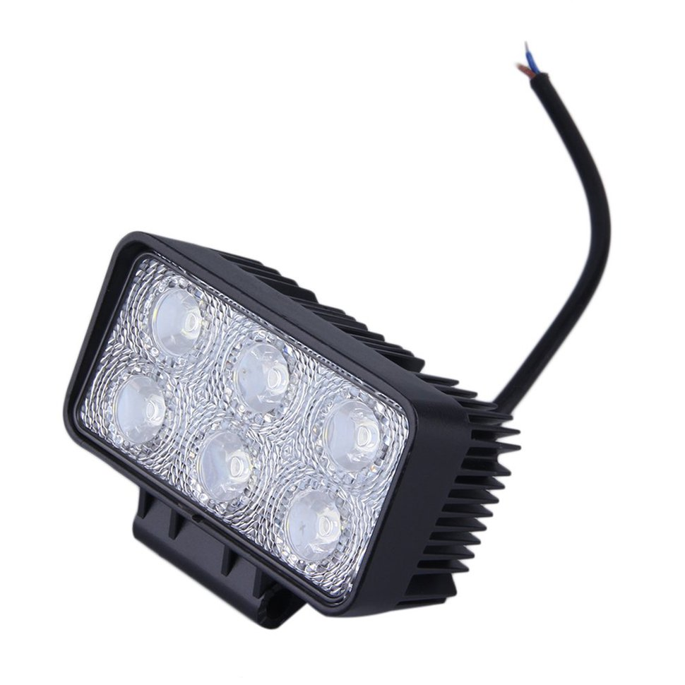 5pcs 4 inch 18W LED Light Bar Work Spot/Flood Lamp Off-road Boat for Car Truck цена 2017