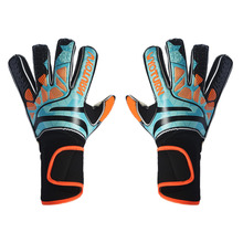 WYOTURN профессиональные вратарские перчатки защита пальцев утолщенные латексные футбольные вратарские перчатки