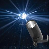 Mini Total 5W LED White Beam Pinspot Light Spotlight Super Bright Lamp Mirror Balls DJ Disco