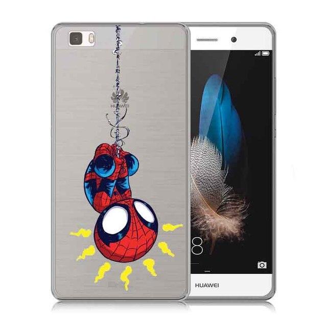 custodia huawei p8 lite 2017 spiderman