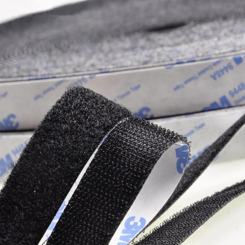 High Bonding Nylon Hook & Loop self adhesive fastener magic tape,for craft diy handmade quilting curtain wide 2/2.5/3/4/5 CM
