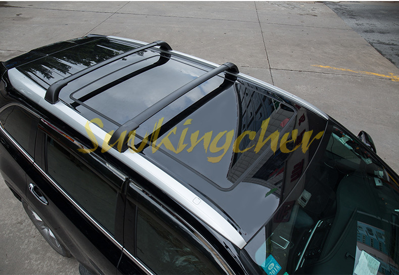 4pcs Baggage Luggage Roof Rack Cross Bar For Toyota