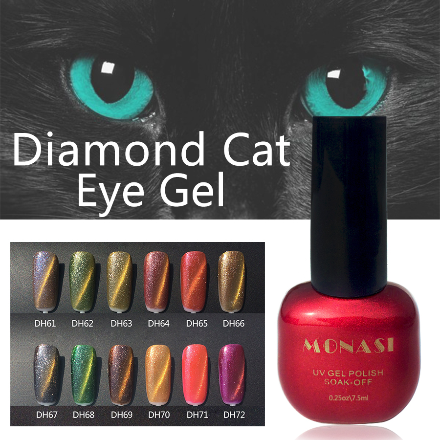 Diamond Cat Eye UV Gel Nagellak Schoonheid Vernis Semi permanente ...