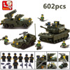 Sluban 6800 Tank DIY Block Compatible With Lego Eductional Building Blocks Sets Military Army Makava Tank