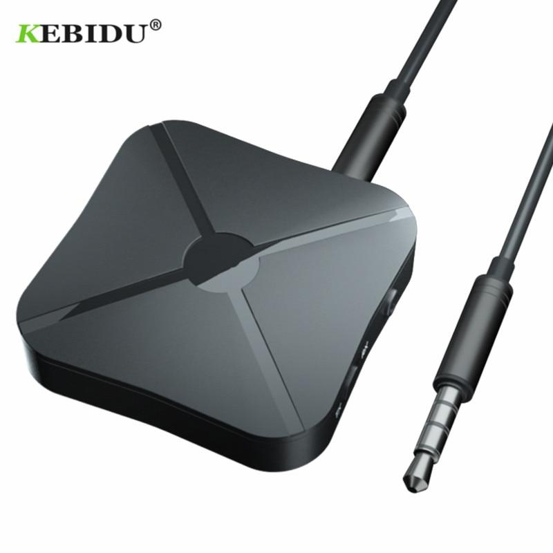 2-In-1 bluetooth  4.2Transmitter Receiver Wireless Aptx Audio 3.5mm Adapter Hub