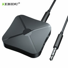 Kebidu 2 en 1 receptor Bluetooth 4,2 y transmisor Bluetooth Adaptador de Audio inalámbrico con Audio auxiliar de 3,5 MM para el hogar TV MP3 PC(China)