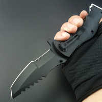 Tactical karambit folding knife hunting knife blade outdoor pockte knife survival camping tool tactical knife fruit scalpel tool