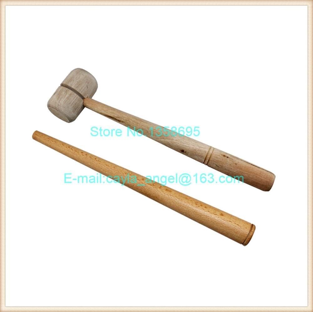 O envio gratuito de ferramentas de reparo do Anel anel de varas de Madeira  e anel de madeira martelo Ouro Individual dos trabalhadores reparação  ferramenta ... b1227f1e89