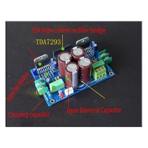 Image 3 - Kaolanhon 100W + 100W 2.0 בית אודיו מגבר לוח TDA7293 כוח AC15 32VX2 מגבר לוח ערכת & סיים לוח LM3886 peer