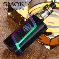 100 Original 220W SMOK Alien Vape Kit With 2ml Smok TFV8 Baby Tank Atomizer EU Edition