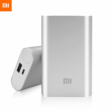 Banco do Poder Portátil para o para o Iphone 100% Original Xiaomi Power Bank 10000 MAH Bateria Externa Powerbank Carregador Iphone 4S 5S S5 6 Plus Vivo