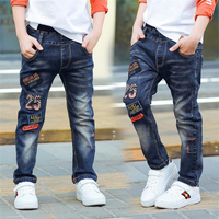 Classic Spring Autumn Children S Infant Soft Denim Boy OR Girl Jeans Casual Trousers Boy Patch