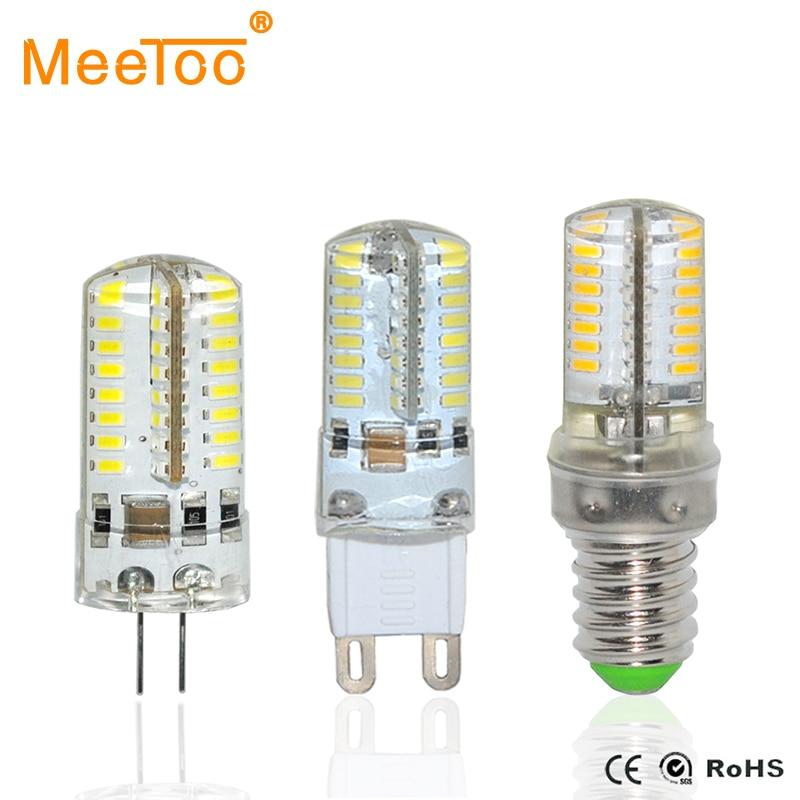 Mini Led Bulb Lamp E14 G9 G4 Led Crystal Chandelier Lights ...
