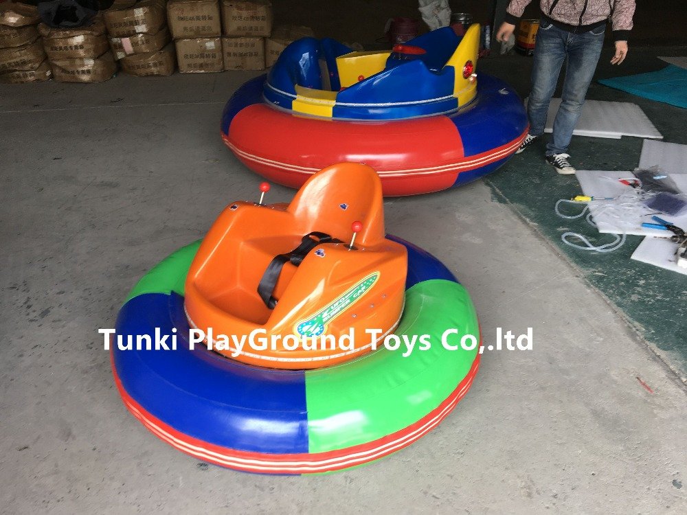 Factory Amusement Free Control Bumper Car Inflatable Tube And With Stainless Steel With Battery Middle Car