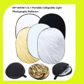 Lightdow 35'' x 47'' / 90 x 120cm 5 in 1 Portable Collapsible Light Photography Reflector for Studio Multi Photo Disc