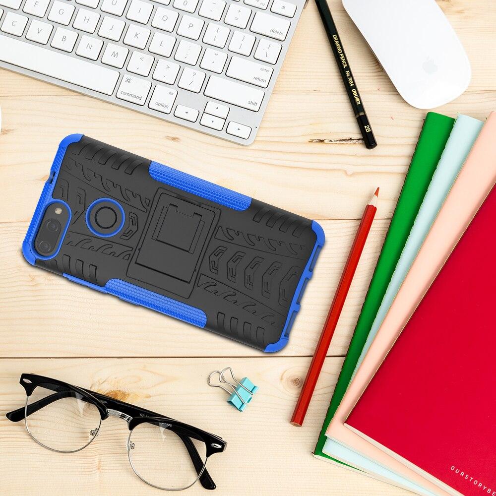Для Asus Zenfone Max плюс M1 ZB570TL PC + Силиконовые Анти шок Impact Прочный Панцири 3D чехол для Asus Zenfone ZB 570 TL крышка Чехол