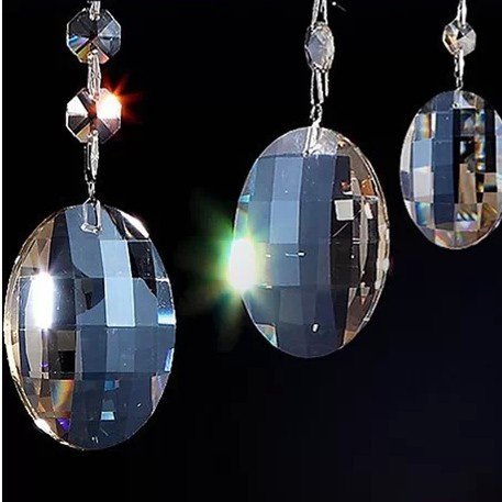 COGNAC coloR , Free shipping 50mm(100pcs/lot) crystal chandelier pendant/crystal curtain pendants,crystal chandelier parts