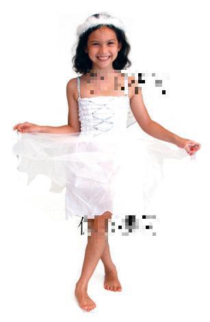 kid dress angel party dress wedding costumes girl princess dress white angel cosplay halloween christmas costumes - Kids Angel Halloween Costume