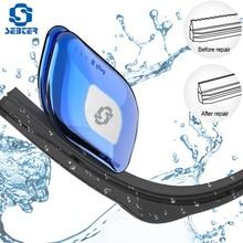 SEBTER автомобильный инструмент для ремонта стеклоочистителя, автомобильная резиновая полоска для лобового стекла, набор для ремонта стеклоочистителей, ремонт стеклоочистителей