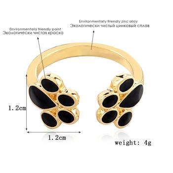 Dog Paw Print Rings  2