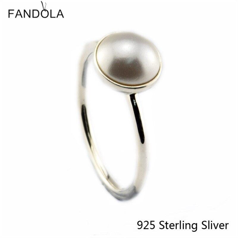 Ckk 925 sterling silber ringe für frauen leuchtende tropfen, weiß - Edlen Schmuck - Foto 1