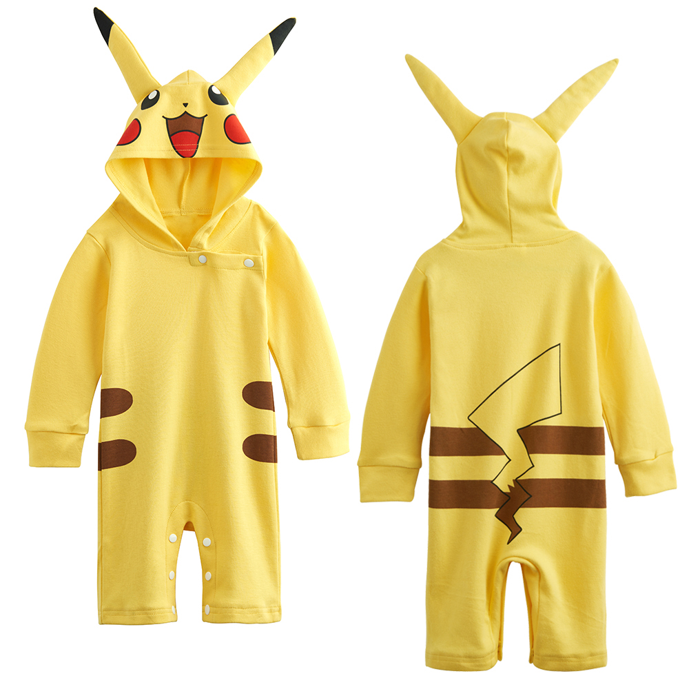 Baby Girls Pokemon Pikachu Romper Outfit Cute Newborn Jumpsuit  sc 1 st  AliExpress.com & Baby Girls Pokemon Pikachu Romper Outfit Cute Newborn Jumpsuit-in ...