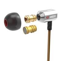 Hot Sale KZ ED9 In Ear Super Bowl Tuning Nozzles Earphones In Ear Monitors HiFi Earphone