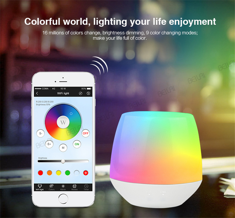 Mi Light 2.4G Wireless LED Controller RF Dimmer Remote Wifi ibox iOS Android APP for RGB /RGBW/WW LED Strip Lamp Bulb