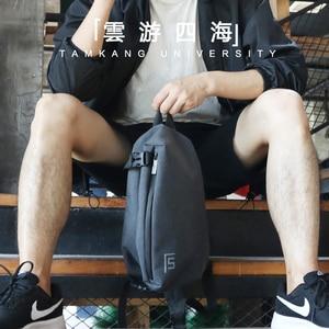 Image 5 - FYUZE חדש קלע תיק גברים שקיות crossbody תיק כתף אחת זכר אנטי גניבה שקיות עמיד למים מזדמן מיני נסיעות פאוץ