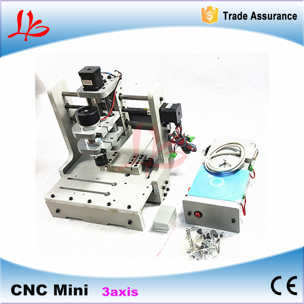 Russia tax free mini cnc Engraving Drilling and Milling Machine 3axis with cheap price free tax