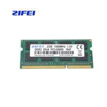 ZIFEI DDR3 2 GB 4 GB 1066 MHz 1333 Mhz 1,5 V CL7/9 памяти ноутбука so dimm SDRAM RAM