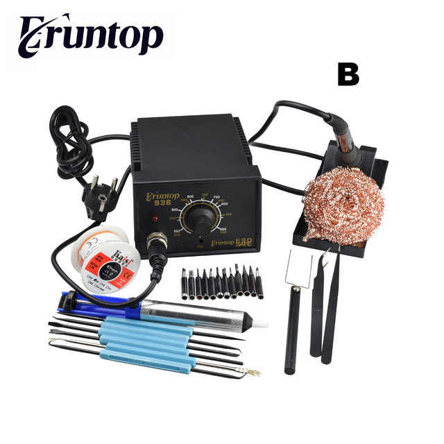 High Quality 60W Soldering Station Electric Solder Iron Eruntop 936 Better Than for Hakko 936 1