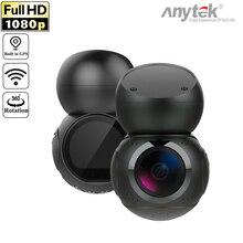 Anytek G21 170 תואר עדשת 1080P מלא HD NTK96658 WiFi רכב DVR המצלמה דאש וידאו מקליט זיהוי תנועת GPS רכב DashCam