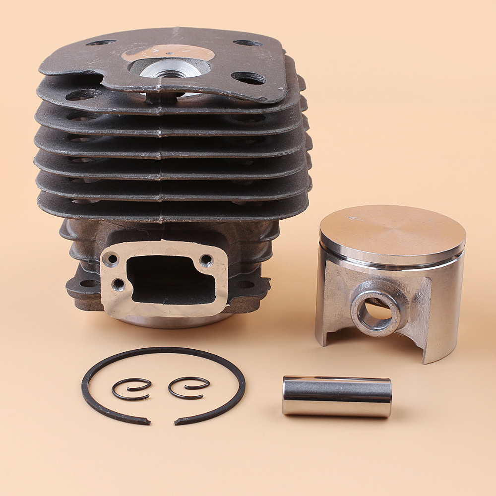 50mm Nikasil Plated Engine Cylinder Piston Kit For HUSQVARNA 268 268XP 268K Chainsaw Motor Parts #503611071 44mm cylinder piston ring pin kit for husqvarna 445 445e 450 450e chainsaw 544 11 98 02 nikasil plated replacement parts