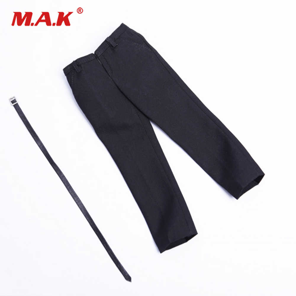 1:6 Scale Male Fashion Khaki Trousers for 12/'/' Action Figures DML Accessory