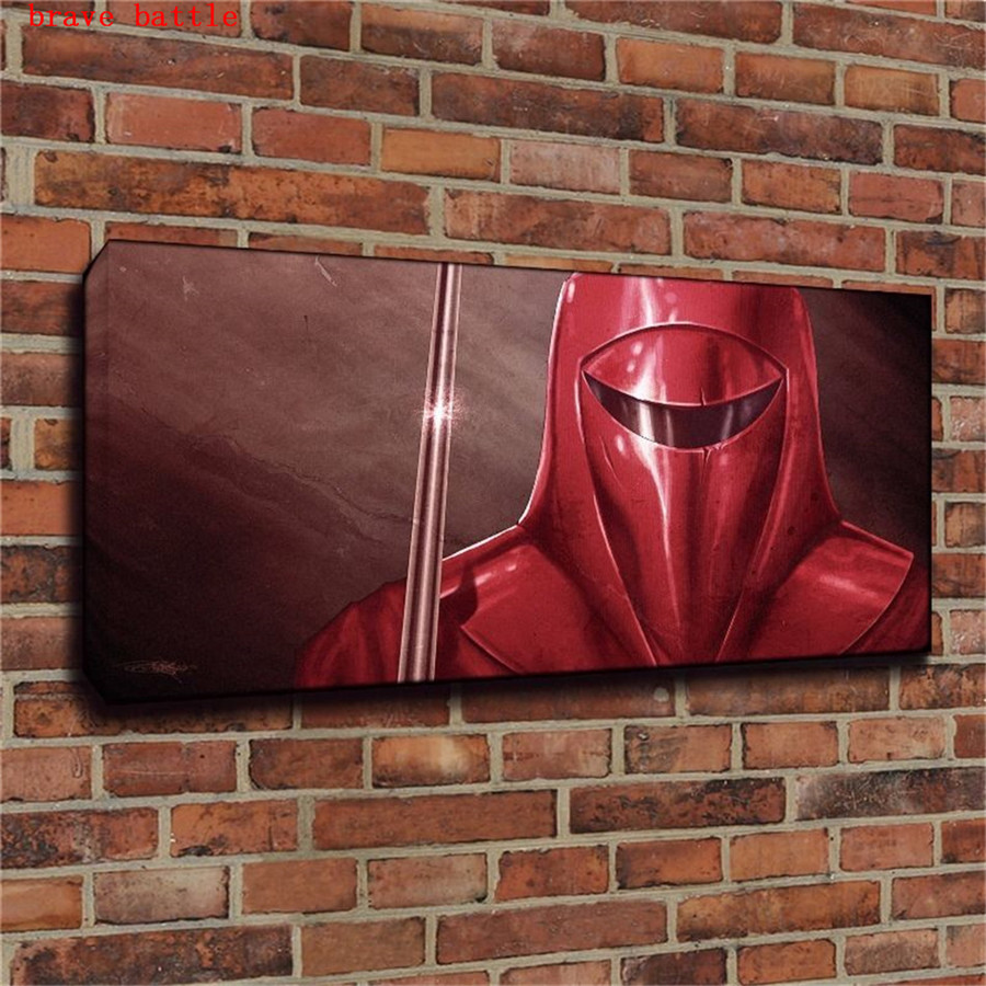 Imperial Home Decor: Star Wars Imperial Guard Canvas Painting Print Living Room
