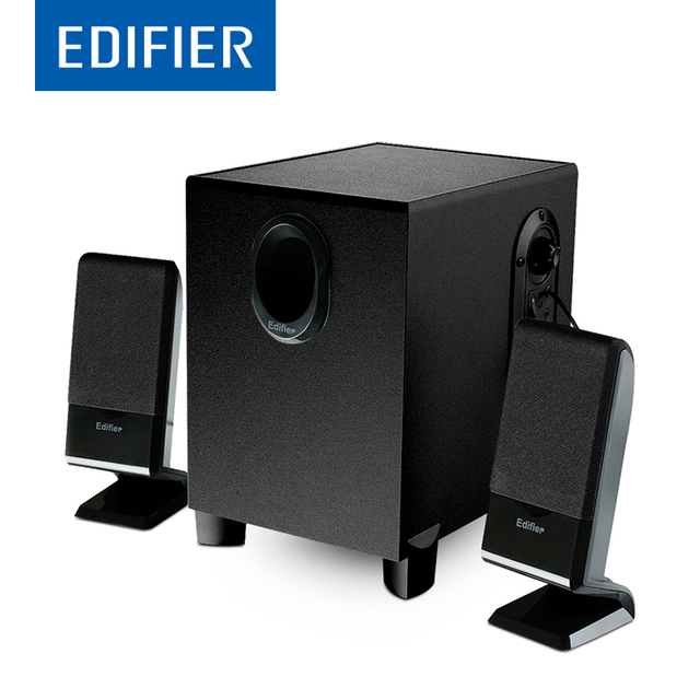 EDIFIER R101V 2.1 Channel Multimedia Computer Speakers Support Magnetically Shielded High-quality Beginner Level With Subwoofer