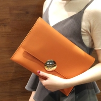 2018 Fashion Solid Women's Envelope Clutch Bag Leather Women Envelope Bag Clutch Evening Bag Female Clutches Handbag Day Clutch
